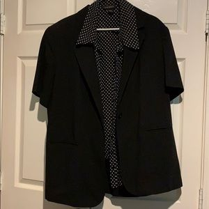 Sag harbor short sleeve blazer type jkt size 18 w